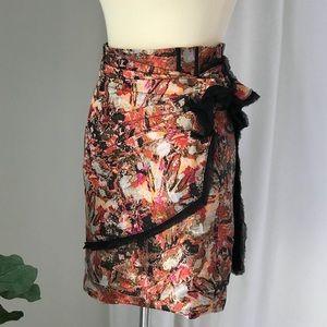 NWT Zac Posen Mini Skirt